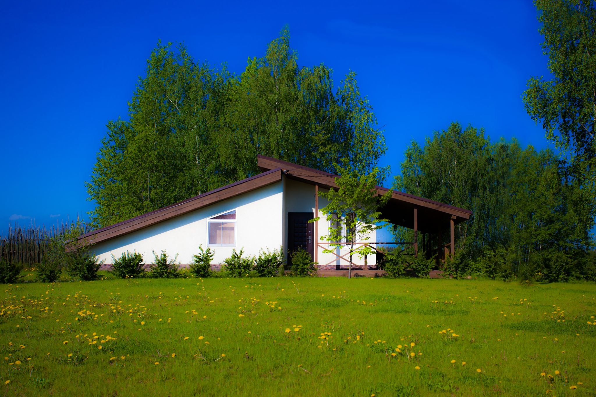 База отдыха «Хуторок» расположена в живописном Рузском городском округе