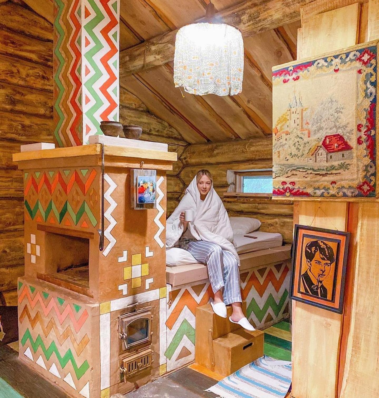 Интерьеры комнат в арт-усадьбе «Веретьево» в Подмосковье
