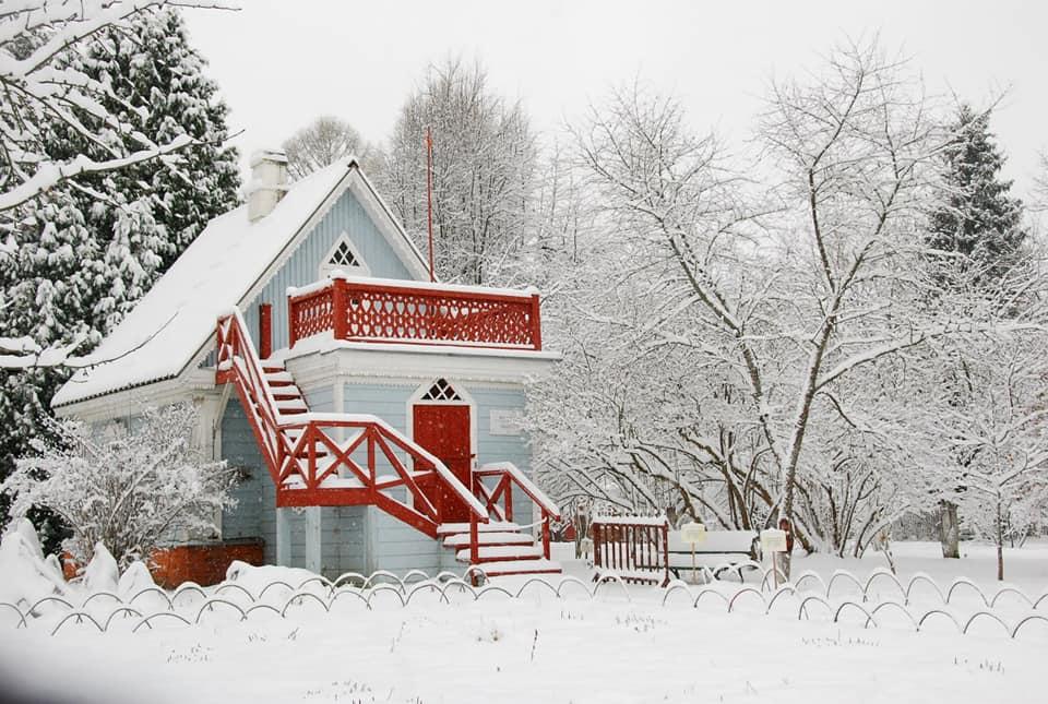 Музей-заповедник А.П. Чехова «Мелихово» зимой