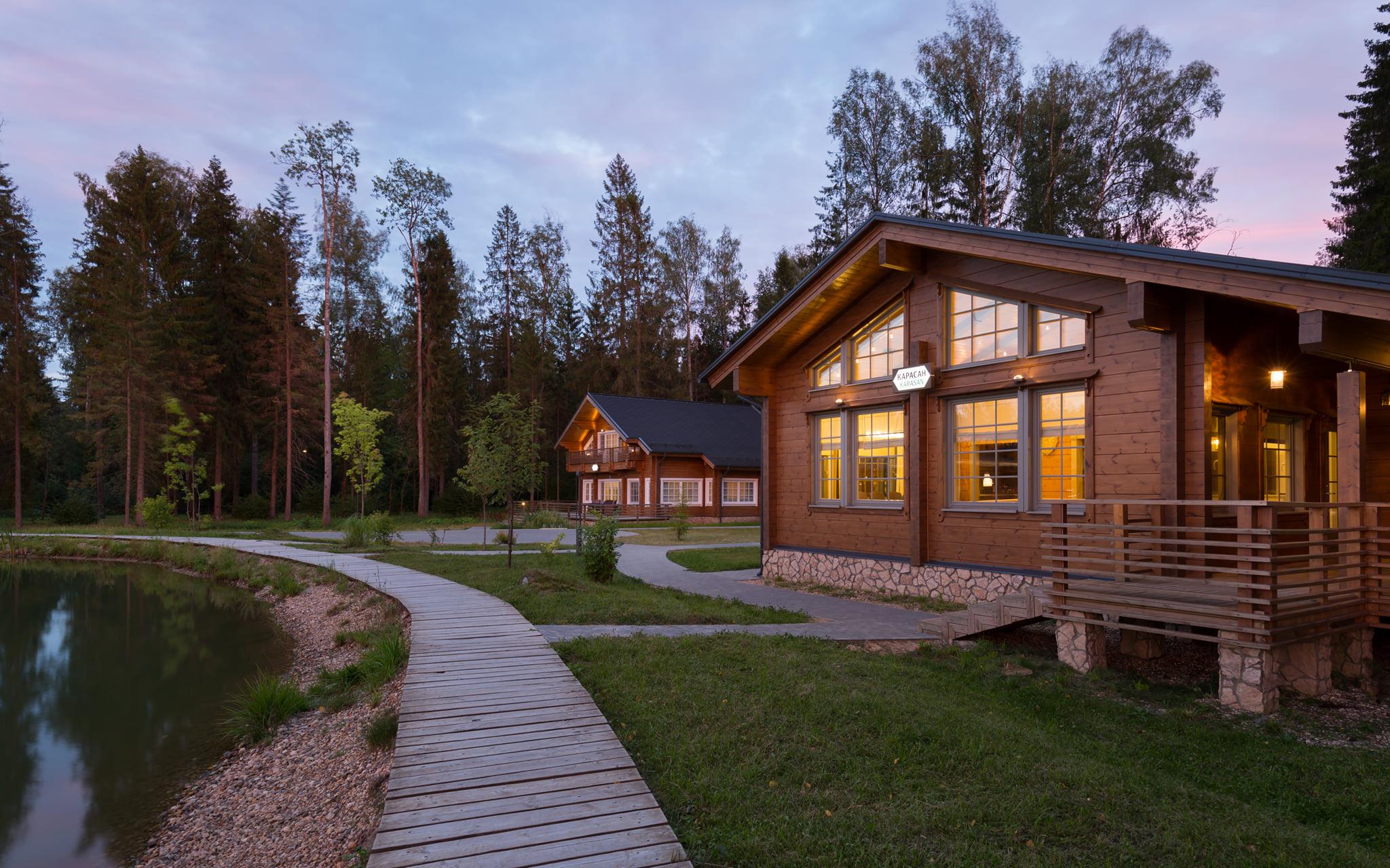 Отель «Изумрудный лес» для экотуризма