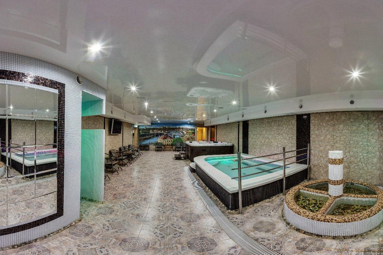 Зона СПА в эко-отеле «Богородск»